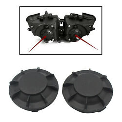 1 Pair Motorcycle Headlight Tail Rear Boots Scooter Parts Waterproof Cover