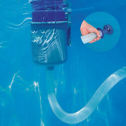 1pc Pool Wall Surface Skimmer Extrator Floating Debris For Above Ground Pool