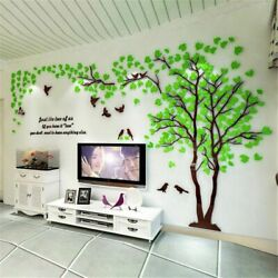 Large Family Tree Wall Decals 3d Diy Acrylic Wall Stickers Mural Home Decor