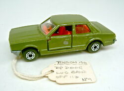 Matchbox Superfast No. 55 Ford Cortina Pre-production Model Military Olive Green