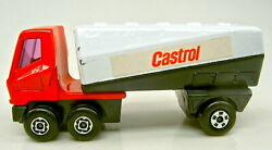 Matchbox Superfast No.63 Freeway Gas Tanker Pre-production Model Red And Black