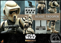 Hot Toys Star Wars Tms016 The Mandalorian Scout Trooper 16 Figure Sealed Box