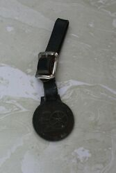 Vintage Watch Fob With Strap From Stover Engine Works Ill.