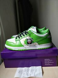 Dunk Low Supreme Mean Green Us12