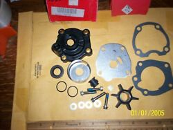 Evinrude Johnson 35hp Oem Water Pump Kit W/housing 388891 390159 1980+ 2cyl New