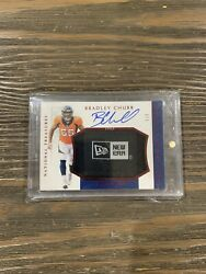 2018 National Treasures Bradley Chubb Rookie Hats Off Signtatures Rpa /3