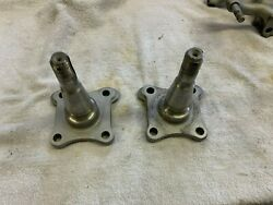 1967 68 69 Amc American Rambler Front Spindles Axle  2
