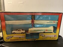 Vintage 1981 Corgi Glider And Trailer Gift Set 12 Made In Great Britain