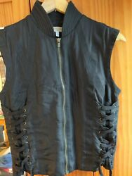 See By Ladies Silk Waistcoat Size 40 8 Uk Brand New Without Tags