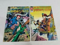 The Brave And The Bold 2 And 4 Dc 1992 The Butcher The Question Green Arrow Lot