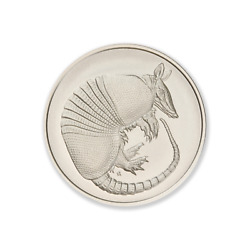 Donand039t Mess With Texas Series - Armadillo 2 Oz .999 Silver Usa Made Bu Round Coin
