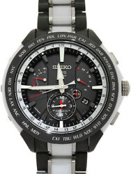 Free Shipping Pre-owned Seiko Astron Cool Japan Sbxb071 8x53-0ag0 Solar Gps
