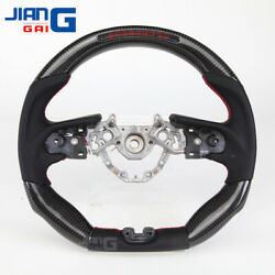 The Newest Led/lcd Carbon Fiber Steering Wheel Fit For 2017+ Nissan Gtr