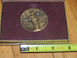 Wittnauer Mint 1976 Two Centuries Of Liberty Peace Progress Medal Longines
