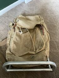 Boy Scouts Of America Canvas Backpack With Med Cruiser Scout Pack Frame
