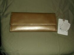 Hobo International Sadie Wallet New with tags Gold Dust $70.00