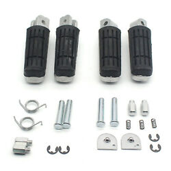 Motorcycle Foot Pegs Footrests Pedals For Yamaha Yzf1000 R1 Fz6r Spare Parts