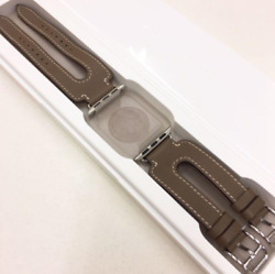 Apple Watch Hermes Double Buckle Cuff Vaux Swift Out Of Print Design Used