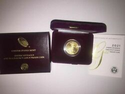 🔥 Us Mint American Eagle 2021 One-half 1/2 Ounce Gold Proof Coin 🔥