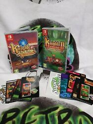 Knights Of Pen And Paper 1 And 2 Nintendo Switch Super Rare Games Pal Version
