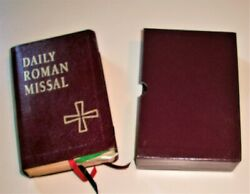 Daily Roman Missal By James Socias 4th Edition 1998 With Slip Case