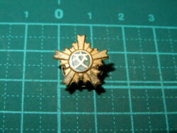 Empire Of Japan Police Road Safety Association Insignia Pin Badge Medal Antique