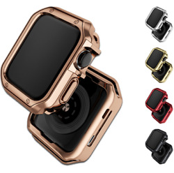 For Apple Watch Series 6 5 4 3 2 SE Bumper Case Cover Frame Protective TPU Soft $7.99