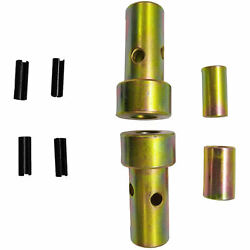 For Cat 1 Quick Hitch Adapter Bushings Category I 3-pt Tractor, Bushing Set