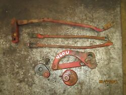 Ih Farmall 460 Utility Traction Control Draft Control Arms And Parts Tractor
