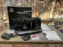Singer 160 Anniversary Sewing Machine Limited Edition Computerized W/ Box