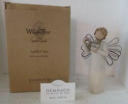 Willow Tree By Susan Lordi 26166 Just For You Angel Thank You Resin Figurine Ln