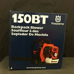 New Husqvarna 150bt Commercial 50cc 2 Cycle Gas Backpack Blower