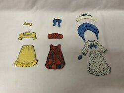 Colorforms Holly Hobbie Doll Dress-up Set Kit 1975 Vintage Replacement Pieces