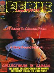 Eerie 1980 113 Spaceship Ufo Funnel Explosion = Poster 10 Sizes 17-4.5 Feet