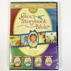 The Jesus Storybook Bible Collection Dvd New Sealed Kids 44 Stories Christian