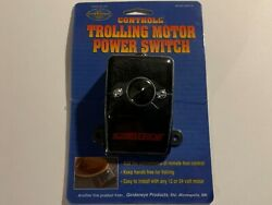 New - Controll Trolling Motor Foot Control Switch Model 08-9100 - Free Shipping