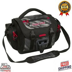 New Fishing Tackle Bag Waterproof W/4 Lure Box Container Gear Storage Pockets Us