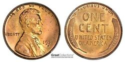 1931-d Lincoln Cent Pcgs Ms-65+ Rd Cac 390 Pcgs Pop 1 And Ngc 1