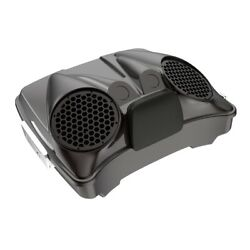 Black Forest Dual 8and039and039 Speaker Lids Fits Advanblack/harley Razor Tour Pak Pack
