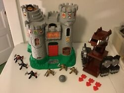 Vintage 1994 Fisher Price Great Adventures Castle Knights Playset