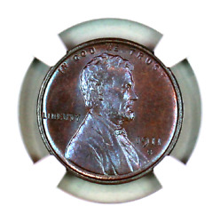 1911-s Ms64 Bn Ngc Lincoln Wheat Penny Superb Registry Quality Collection