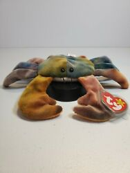 Ty Beanie Babies Claude The Crab Retired/mint Condition No Errors