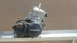 1988 Cagiva Wmx 125 Engine Rebuilt Shifter And Kick Starter Levers Included
