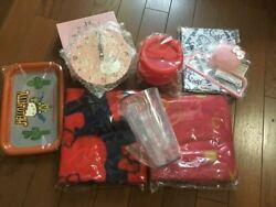 Hello Kitty Goods Clock Lunch Box Blanket Cup Toilet Holder Tray