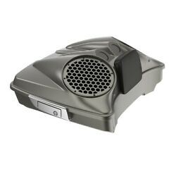 Industrial Gray Dual 8and039and039 Speaker Lids Fits Advanblack/harley Razor Tour Pak Pack