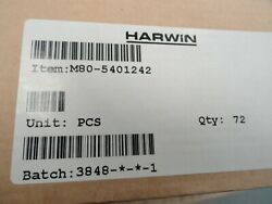 Lot Of 72 Harwin M80-5401242 Connector, Header, 12pos, 2row, 2mm New