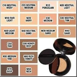 Avon The Face Shop Ink Lasting Cushion Foundation Slim Fit