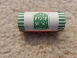 Usa And Canada Buffalo For Erie Peace Bridge Token, Uncirculated - Unopened Roll