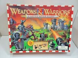 Weapons And Warriors Castle Siege Game Medieval Combat Pressman 1995 Knight Toy