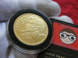 Rare Silver Shield 2014 1 Troy Ounce Gold Freedom Girl In Capsule Mint No Spots